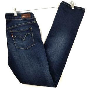 Levi's modern rise straight leg jeans